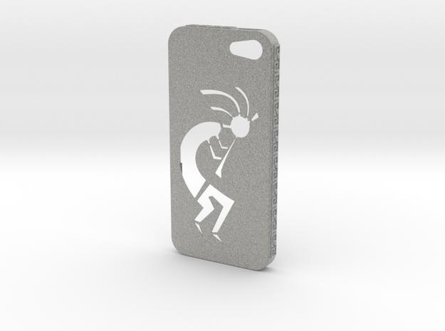 Kokopelli iPhone Case in Metallic Plastic