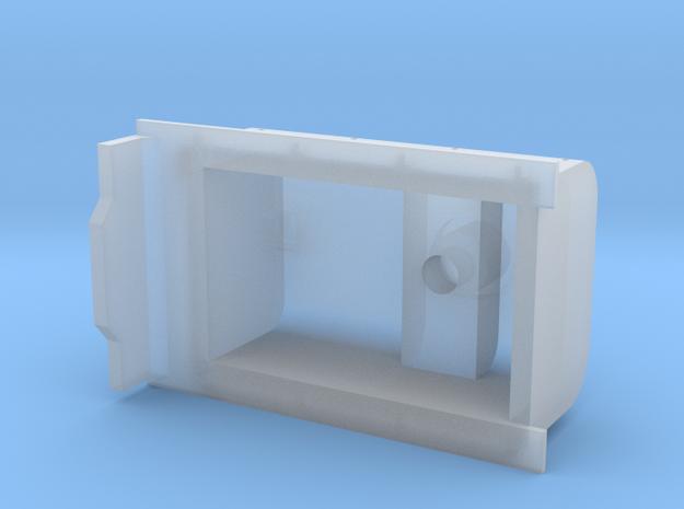 3D Garrat Aguada in Smooth Fine Detail Plastic