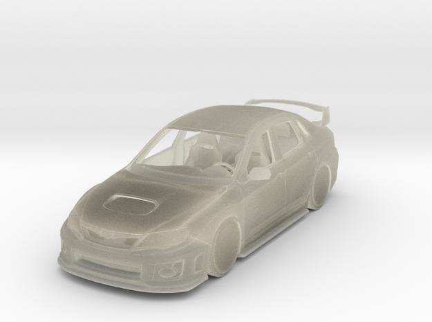 Subaru Impreza WRX STI JDM Car 3d printed