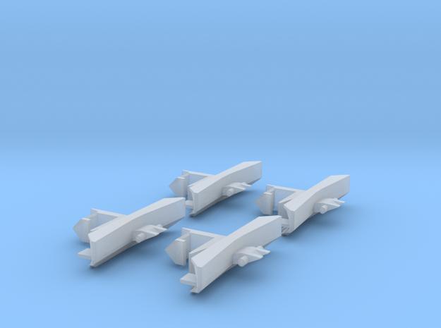 Schienenräumer für Jägerndorfer 2043 Spur-N in Smooth Fine Detail Plastic
