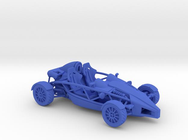 Ariel Atom 1/43 scale RHD no wings in Blue Processed Versatile Plastic