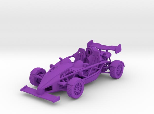Ariel Atom 1/43 scale LHD w/wings in Purple Processed Versatile Plastic