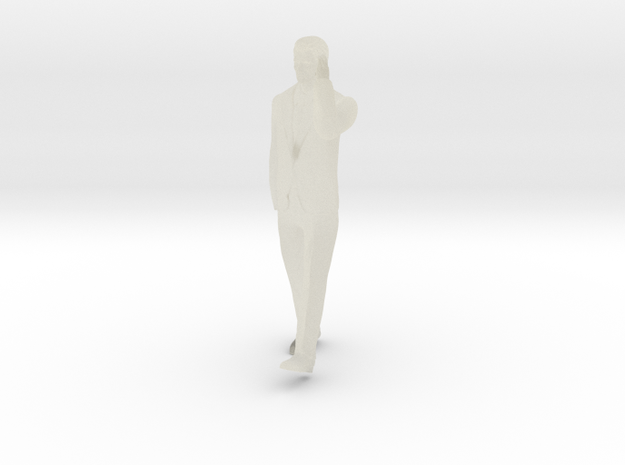 Man Walking 16th in Transparent Acrylic