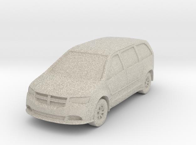 """Minivan at 1""""=16' Scale in Sandstone"""