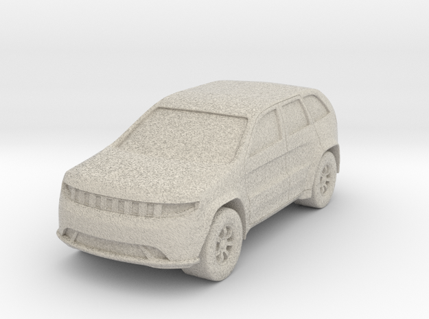 """SUV at 1""""=16' Scale in Sandstone"""