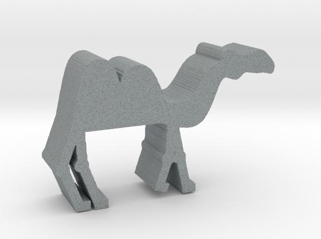 Camel in Polished Metallic Plastic