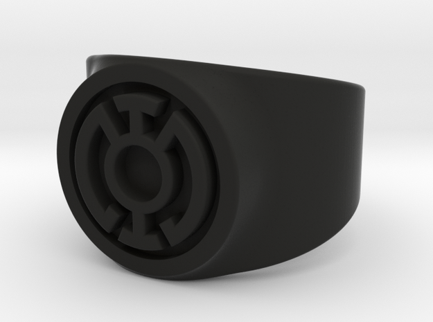 Blue Hope GL Ring Sz 8 3d printed