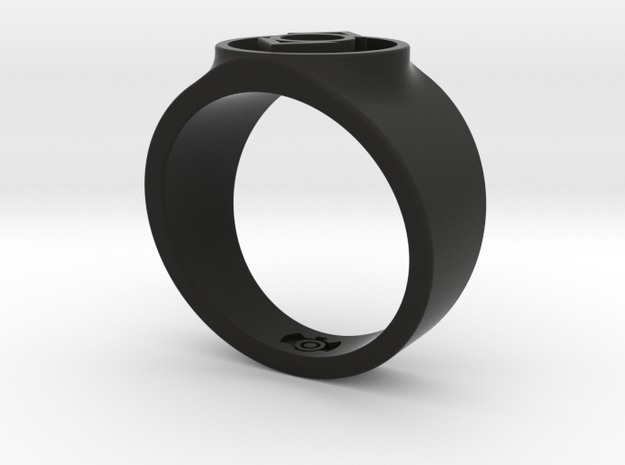 Indigo Tribe Compassion GL Ring Sz 13 3d printed