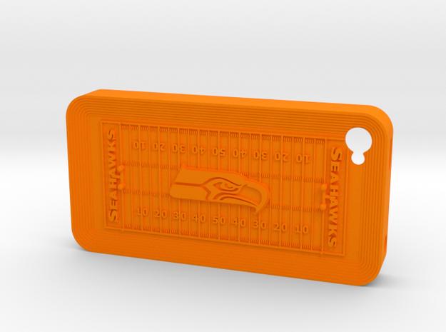 iPhone 4 Football SH 3d printed