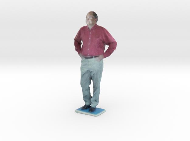 Man With Hands On Hips 5 - Denver Startup Week 201 in Full Color Sandstone