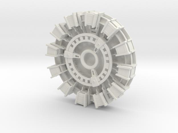 Arc Reactor v1.1 in White Natural Versatile Plastic