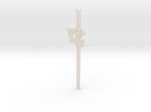 Kirito's Elucidator Sword 3d printed