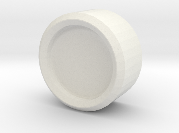 Iron Man mk III - HelmetFastener in White Natural Versatile Plastic