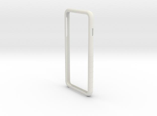 Iphone 6plus Shell in White Natural Versatile Plastic