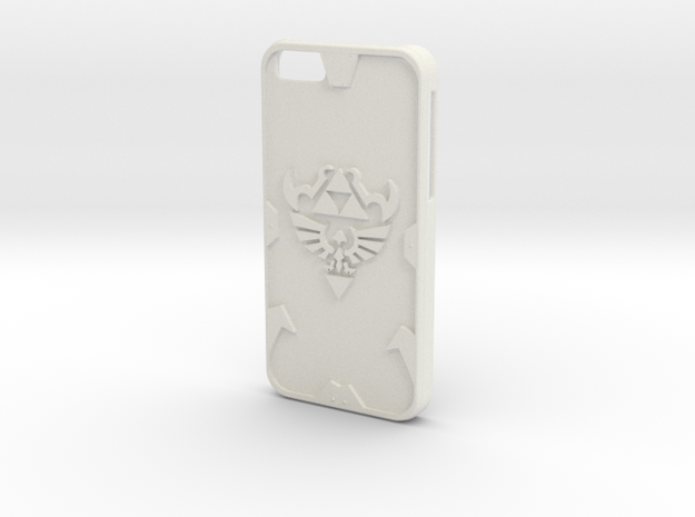 Zelda Case for IPhone 6 in White Natural Versatile Plastic