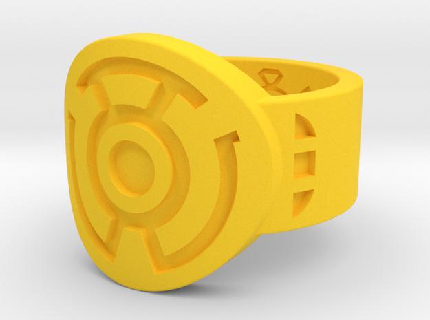 Sinestro Wing Variant FF (Sz's 5-15) in Yellow Processed Versatile Plastic