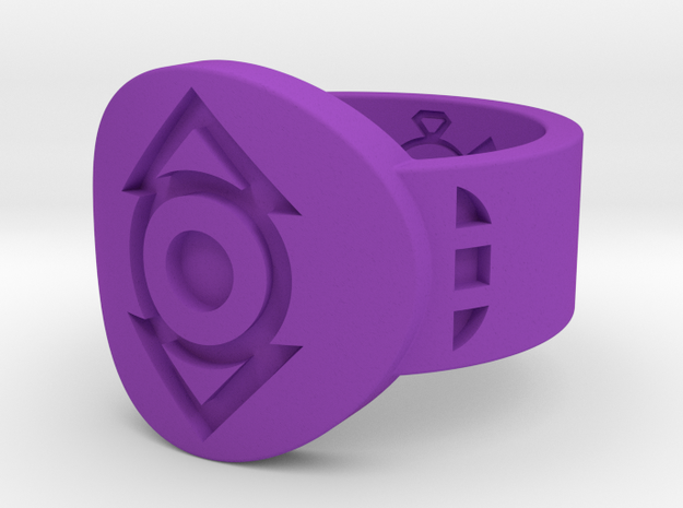 Indigo Tribe FF Ring (Sz's 5-15) in Purple Strong & Flexible Polished