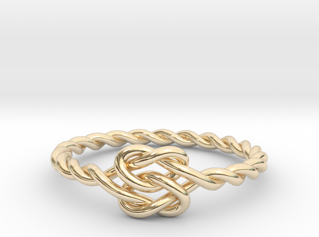 True Lover's Knot Ring