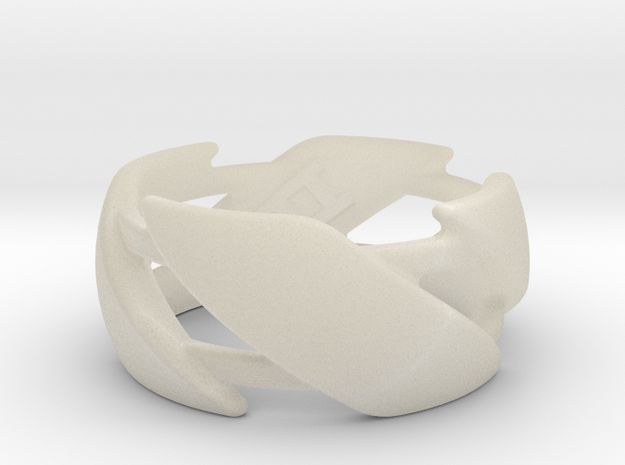 US10 Ring III 3d printed