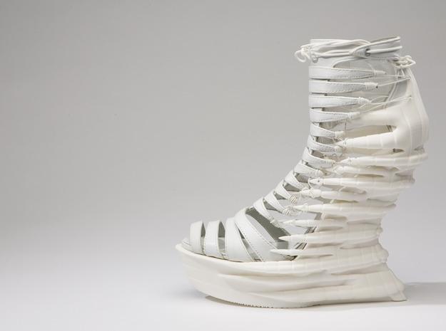 Janina Alleyne - Reptile Shoe 3d printed