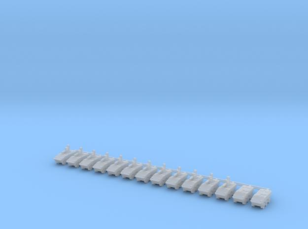 1/700 VBTP-MR Guarani (VBCI 30mm) Company in Smooth Fine Detail Plastic