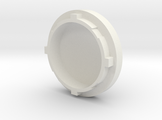 Bow Engine Cap 0.1 in White Strong & Flexible