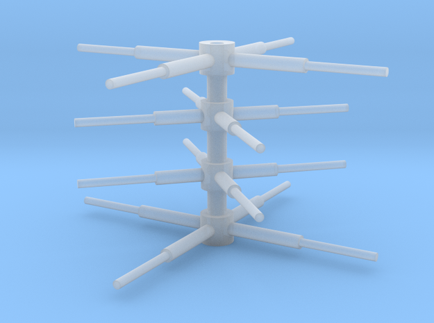 Observatory Spire Array 0.1 in Smooth Fine Detail Plastic