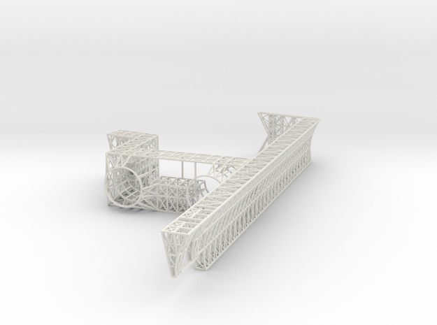 Stern Core Stbd V0.1 in White Strong & Flexible