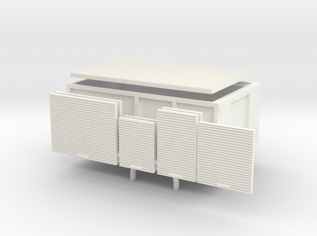 LF24 Reinfeld in White Processed Versatile Plastic