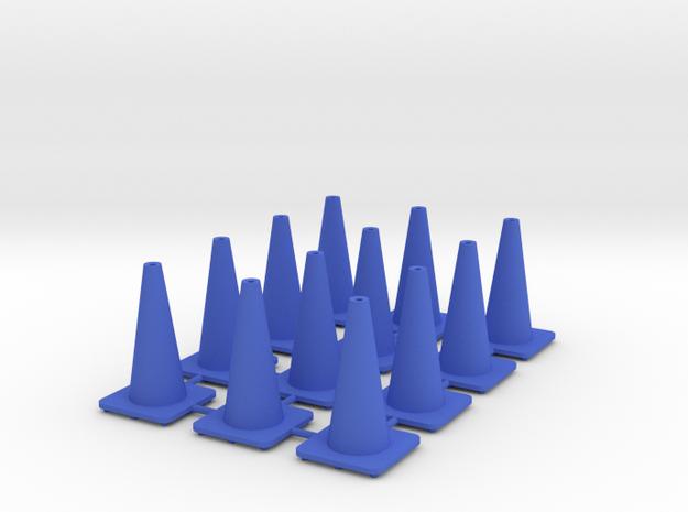 "18"" traffic cones 1/24th (12) 3d printed"