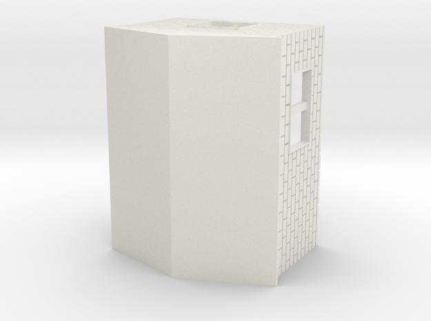 Garage 1:120 in White Natural Versatile Plastic