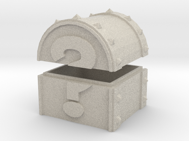 Mystery Chest (Color, Large) 3d printed