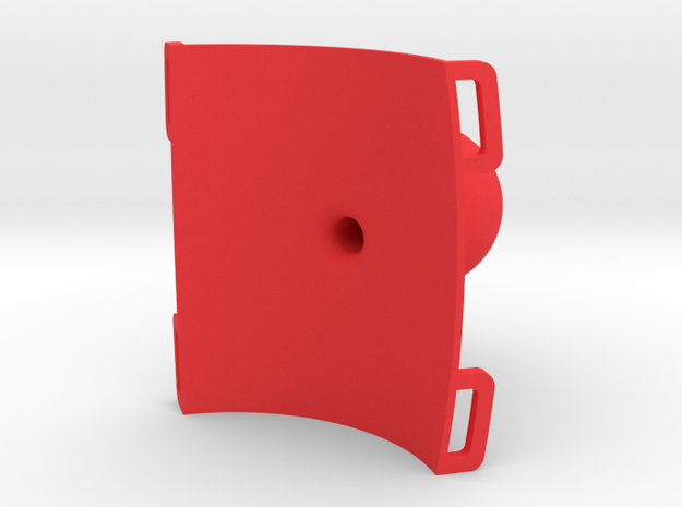 """Roll hoop clamp 1"""" ball hollow 3d printed"""