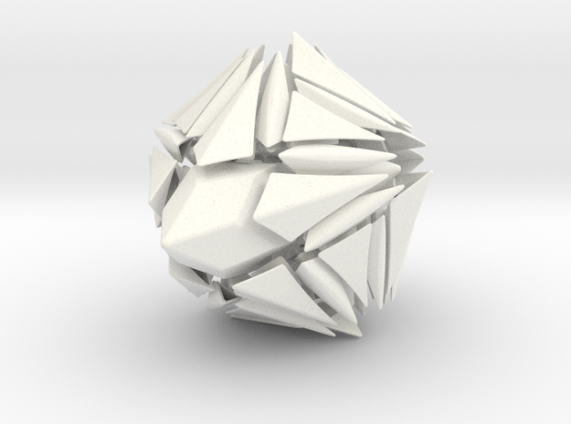 Spiral Fracture Puzzle 3d printed