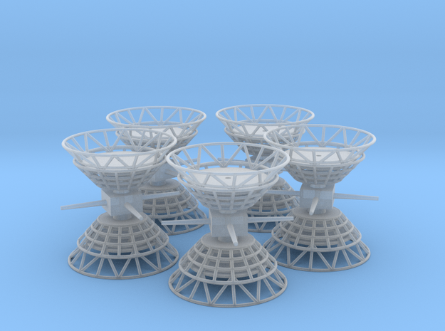 Antenna Top V0.3 Cluster in Smooth Fine Detail Plastic
