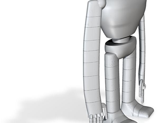 Laputa robot hollow out 1/25 3d printed
