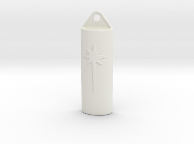 Litebeam Top in White Natural Versatile Plastic