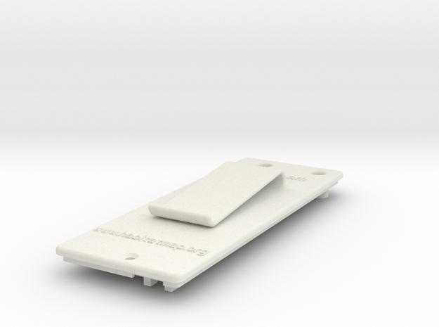 Litebeam Back in White Natural Versatile Plastic