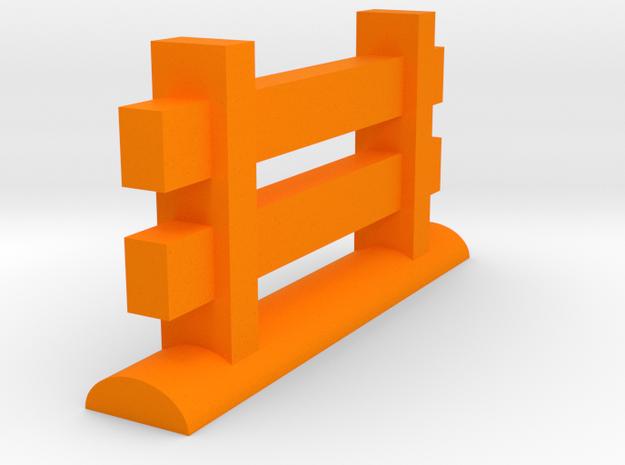 Miniature Fence Piece 3d printed