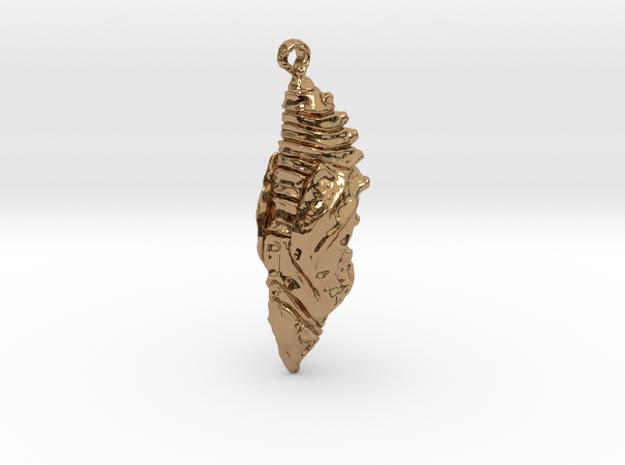 Chrysalis Pendant 3d printed