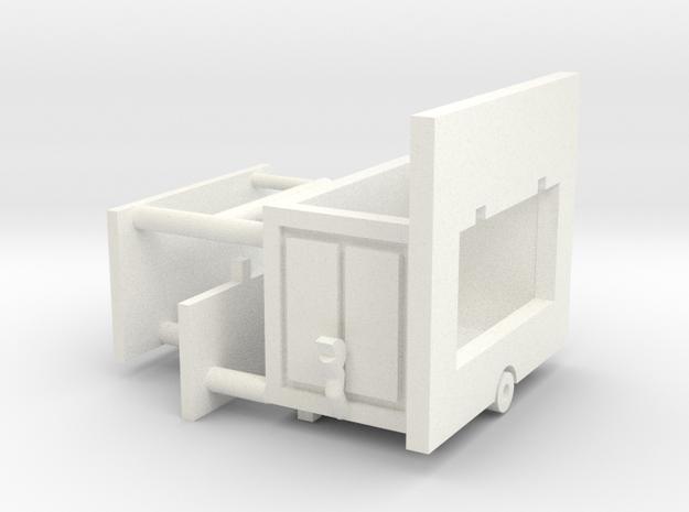 kleine Bude 1:220 (z scale) 3d printed