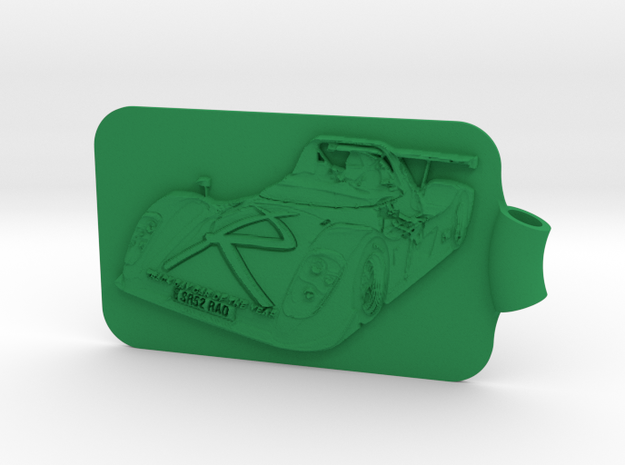 Radical SR3 Key Fob 3d printed