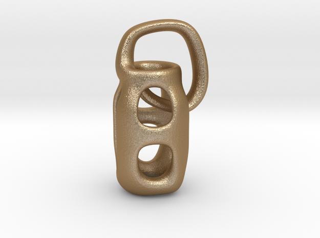 Masonry in Matte Gold Steel