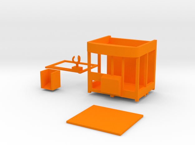 """Greifercontainer """"Big One"""" - 1:87 (H0 scale) 3d printed"""