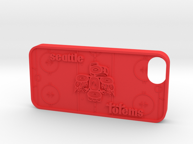 iPhone 5 Seattle Totems 3d printed