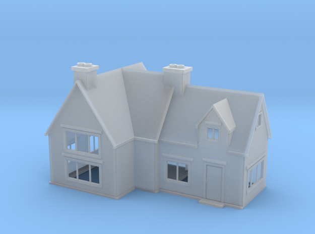Country House 2 Z Scale in Smooth Fine Detail Plastic