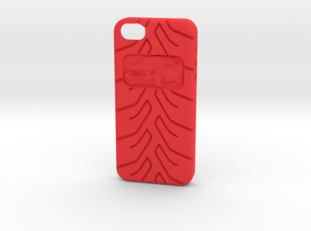 iPhone 5 Cadillac CTS A048 tread 3d printed