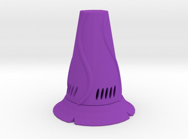 Vase mini in Purple Processed Versatile Plastic