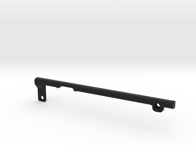 ThumbRail (Neck)-fits Fender Geddy Lee Jazz in Black Natural Versatile Plastic