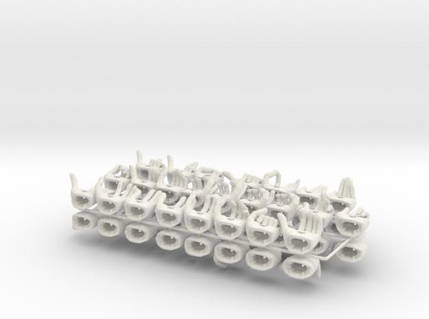 1/6 ALTER EGO HANDS 3d printed